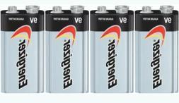4x  Energizer  Max 9V 9 Volt 522 Alkaline Batteries  Exp.12/