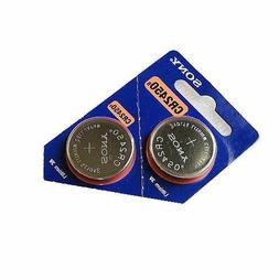 5 Sony CR2450 3V Lithium Coin Batteries