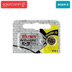 5 NEW Maxell 373 SR916SW SR68 SR916 Silver Oxide Watch Batte