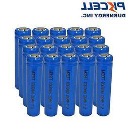 50 × AAA ICR 10440 Rechargeable Battery 3.7V Triple A Li-io