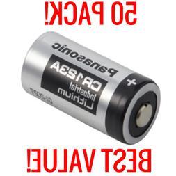 50 pack lithium cr123a 3v cr17345 camera