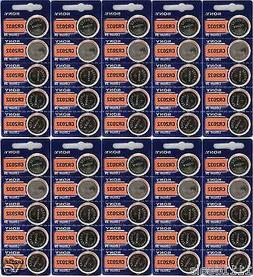 50 Pack Sony CR2032 3V Lithium Coin Batteries FRESHLY NEW US