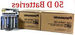 50 Wholesale D Panasonic Battery Batteries super heavy duty