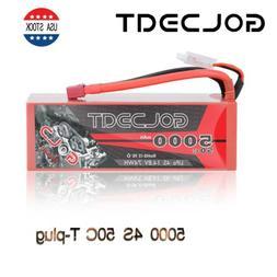GOLDBAT 5000mAh 4S LiPo Battery 14.8V 50C Deans T for RC Hel