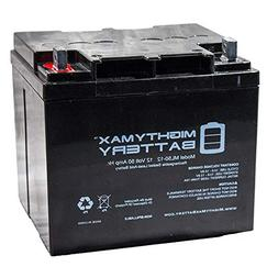 Mighty Max Battery 12V 50AH Replacement Battery for Minn Kot