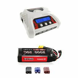 Venom 50C 3S 5000mAh 11.1V LiPo Battery and 2-4 Cell Balance