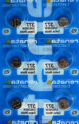 6 377 / 376 SR626SW Renata Swiss Made Batteries