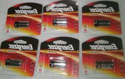 6-Eveready EL123APBP 3V Lithium  Battery