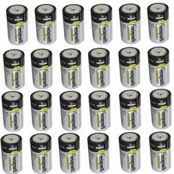 6 Energizer Industrial D Alkaline Batteries