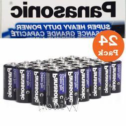 6 Size C Panasonic Super Heavy Duty Battery  3 Packs x 2 Bat