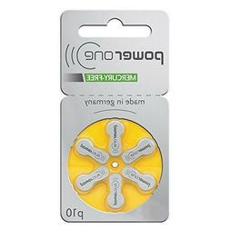 60 powerone hearing aid batteries