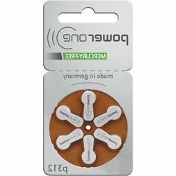 60 x Varta Power One 312 Size Hearing aid batteries Zinc air