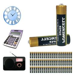 63-Count Extra Heavy Duty AAA Batteries 1.5V Triple A Batter