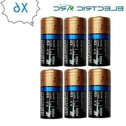 6x Duracell CR123A CR17345 DL123A 123A CR123 3V Ultra Lithiu
