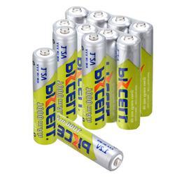 PKCELL 8-20PCS AAA Ni-MH 1000mAh1.2V 3A Rechargeable Batteri