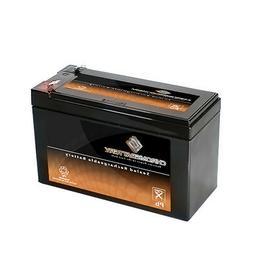 Chrome Battery 12V 7.6AH Sealed Lead Acid 570 Portable Fish