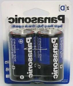 8 Panasonic Batteries SIZE D Super Heavy Duty Long expiry da
