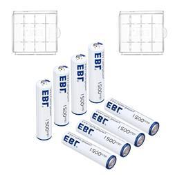8 Pack EBL AAA Lithium Batteries 1.5V Long Lasting & Leakpro