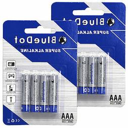 AAA TRIPLE A HEAVY DUTY BATTERIES BlueDot Alkaline 1.5V ~NE