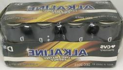 8 Pack CVS Brand D Alkaline Batteries  D8