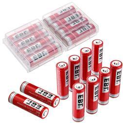 EBL 800mAh 14500 Li-ion Rechargeable Batteries BRC For Flash