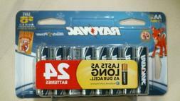 Rayovac 815-24CF2 Rayovac Alkaline Batteries, AA, Peggable L