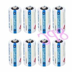 8PC TrustFire CR123A 1400mAh 3V Lithium 123A Batteries for C