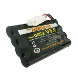 9.6V 2200mAh NIMH Rechargeable Battery 8 AA Pack TAMIYA Plug