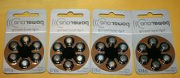9 Packs  POWER ONE P312 Hearing Aid Batteries! EXPIRES 9-201