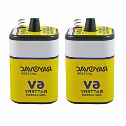 Rayovac 944-2R: 6-Volt Heavy Duty Lantern Battery with Sprin