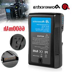Powerextra 95Wh 6.6Ah V Mount/V-Lock Battery for Sony Camera