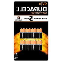 Duracell 9V Alkaline Batteries 24 pack expires 2022