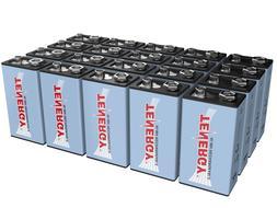 Tenergy 9V Size 250mAh NiMH Rechargeable Batteries Cells 9 V