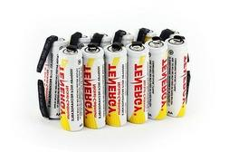 Combo: 12pcs of Tenergy AA 1000mAh NiCD Rechargeable Batteri