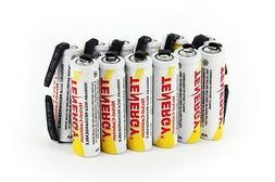 Combo: 12pcs of Tenergy AA 1000mAh NiCD Rechargeable Batteri