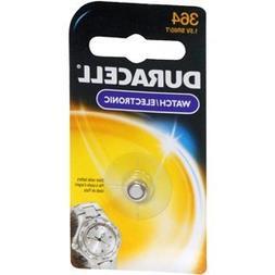 Duracell D364BPK09 Silver Oxide Electronic Watch Battery, 36
