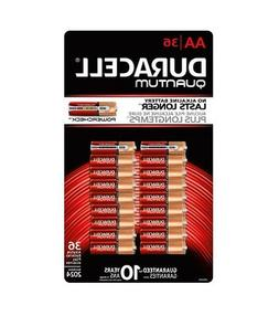 Duracell Quantum Alkaline AA Batteries - 36 Pack, Packaging
