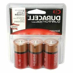 Duracell - Quantum C Alkaline Batteries - long lasting, all-