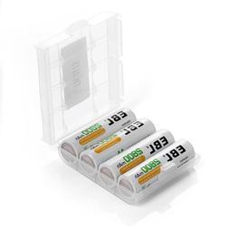 EBL AA 2800mAh High Performance Ni-MH Rechargeable Batteries