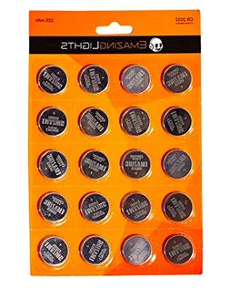 EmazingLights CR 2032 Batteries  3 Volt Button Cell Lithium