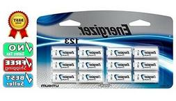 Energizer 123 Lithium Battery 12-Pack for Arlo / Reolink Sec