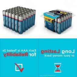 RAYOVAC AAA  HIGH ENERGY Alkaline Batteries, 824- 48 Count