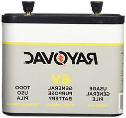 Rayovac 918 Lantern Battery, 6 Volt Screw Terminals