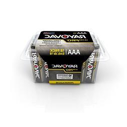 Rayovac UltraPRO Alkaline Batteries, AAA, Recloseable 18 Cou
