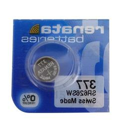 Renata #377 Silver Oxide Battery - 10 Pack