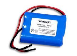 Tenergy Li-Ion 18650 11.1V 2200mAh Rechargeable Battery Pack