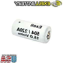 Exell Battery A220/504A 15-Volt Alkaline Battery
