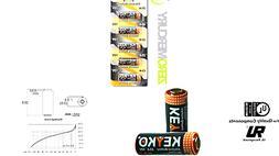 A23 Battery 12V Alkaline 55 mAh - 5-Pcs Pack - for Garage Do