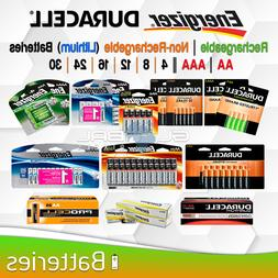 AA AAA Battery Energizer Duracell Rechargeable or Non Rechar