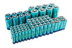 Tenergy AA/AAA/C/D/9V Size High Capacity NiMH Rechargeable B